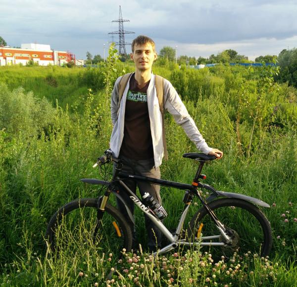 Photo with bike